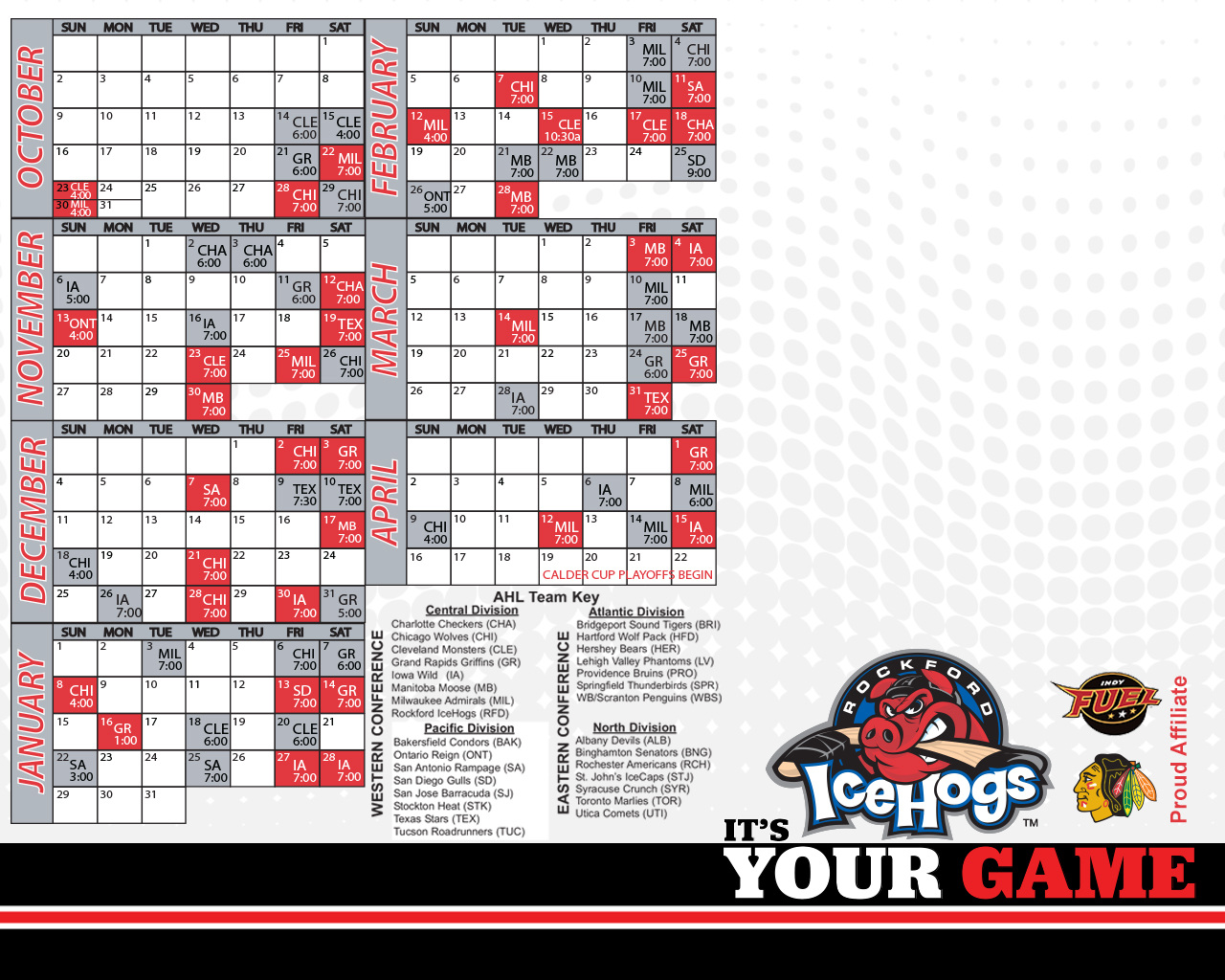 Official Website Of The Rockford IceHogs Wallpaper Browsers