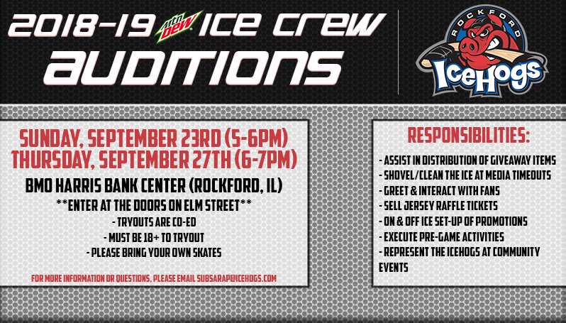 Official Website Of The Rockford Icehogs Ice Crew