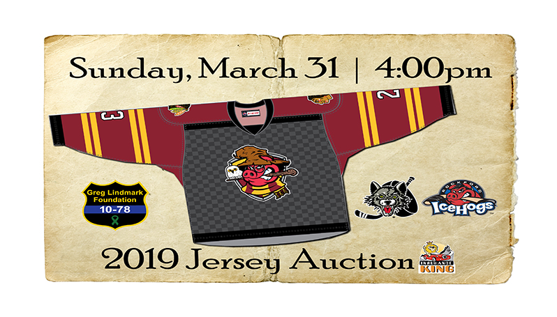 659fd1ae733a ICEHOGS TO DON WIZARD-THEMED JERSEYS FOR ANNUAL JERSEY AUCTION GAME