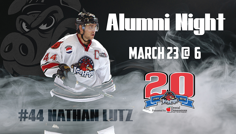 newest 556de c41ca NATHAN LUTZ HEADLINES ALUMNI NIGHT ON MARCH 23
