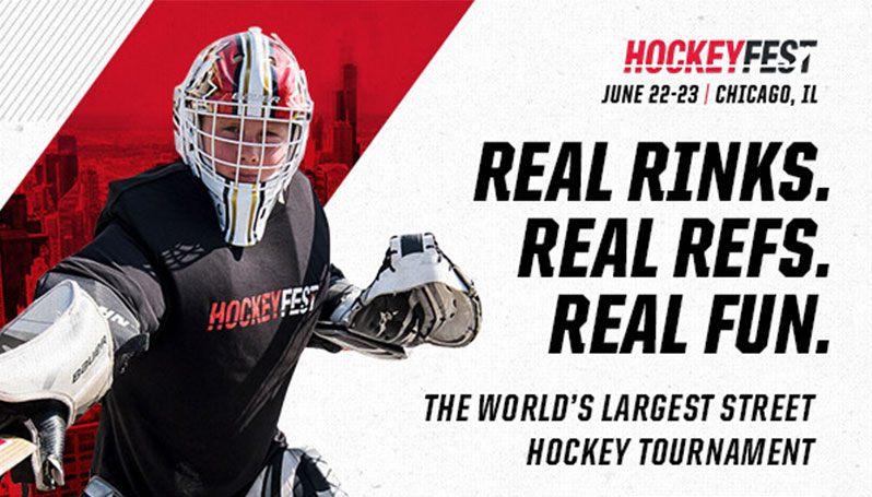 11035234a7f JOIN THE BLACKHAWKS AT WORLD'S LARGEST STREET HOCKEY TOURNAMENT