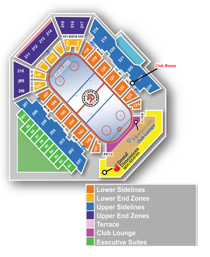 Icehogscom Seating Map