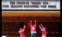 A MESSAGE FROM THE ICEHOGS