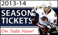 2013-14 SEASON TICKETS ON SALE NOW